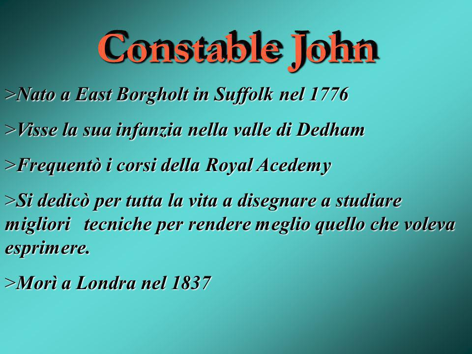 Constable John Nato a East Borgholt in Suffolk nel 1776