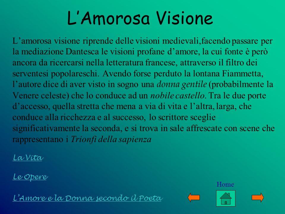 L'Amorosa Visione