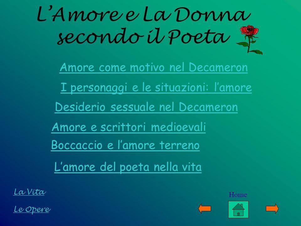 L'Amore e La Donna secondo il Poeta