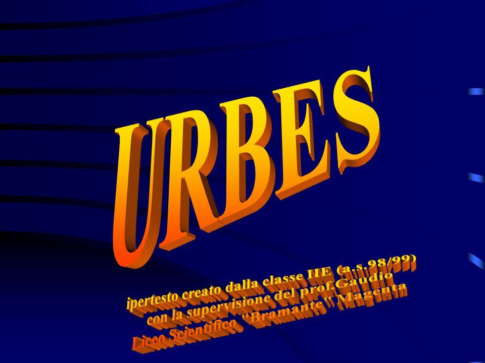 URBES ipertesto creato dalla classe IIE (a.s.98/99)