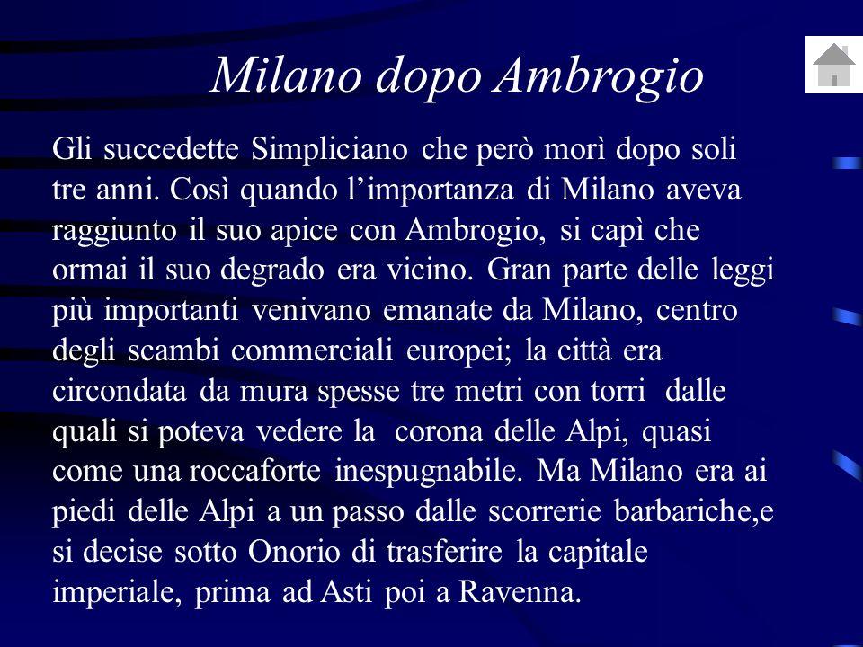 Milano dopo Ambrogio