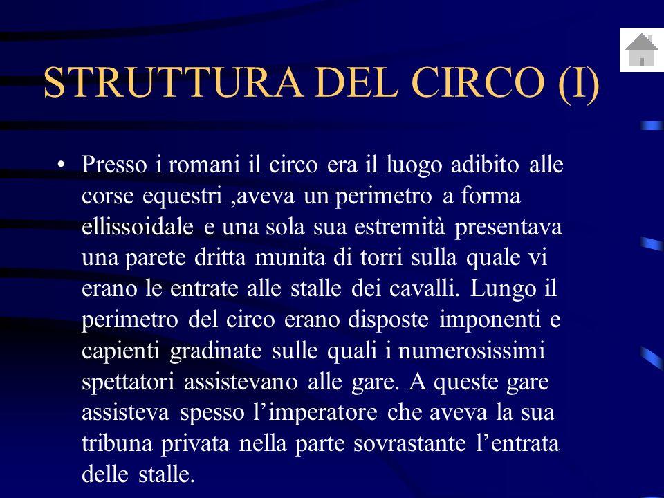 STRUTTURA DEL CIRCO (I)