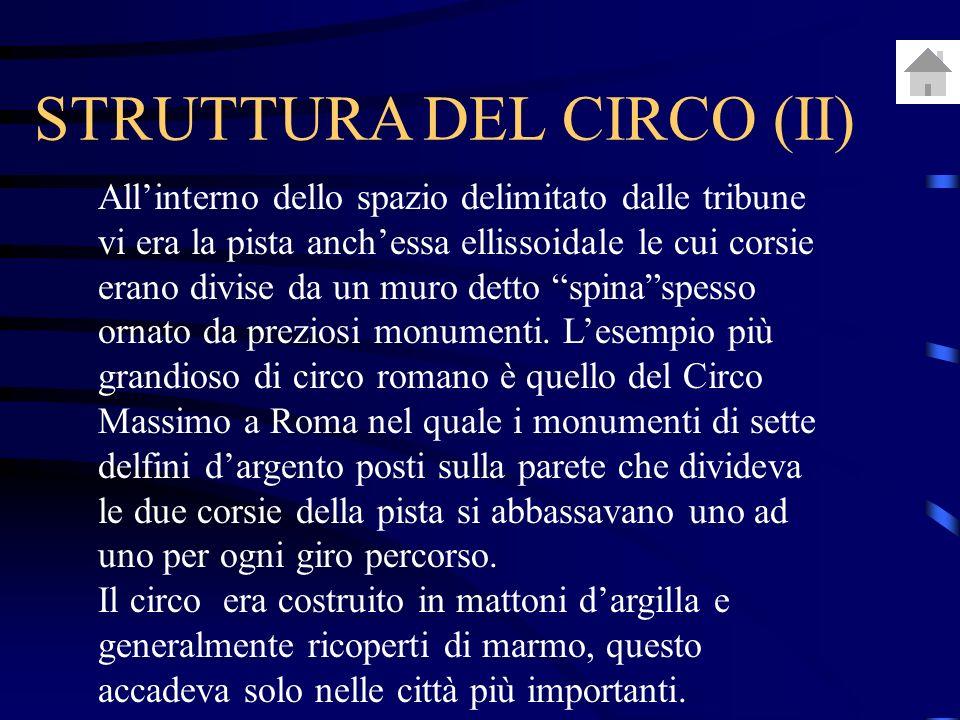 STRUTTURA DEL CIRCO (II)