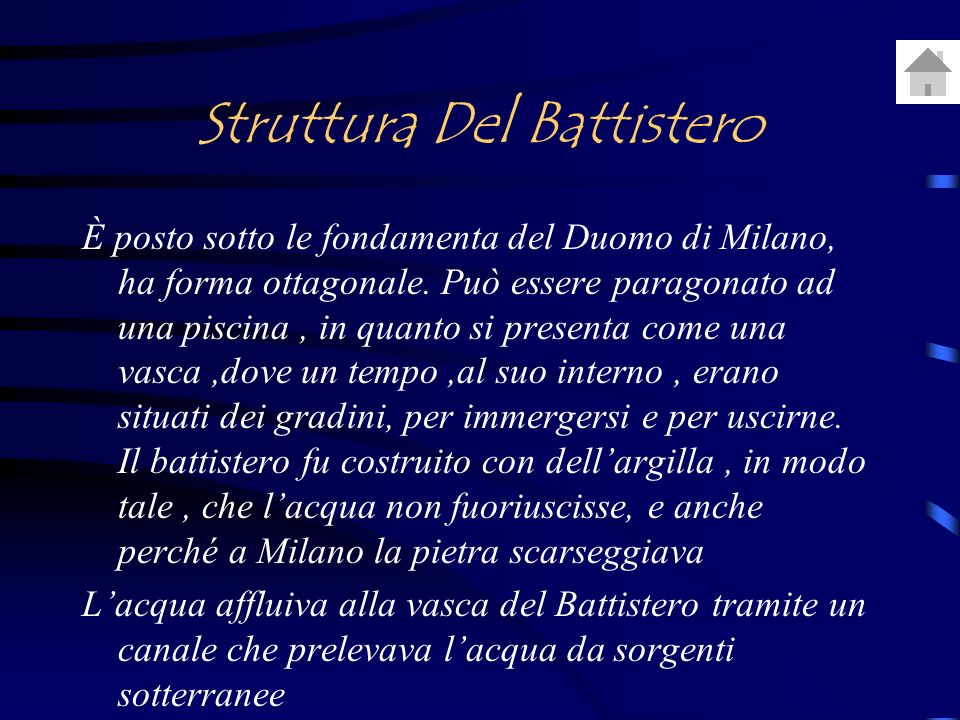 Struttura Del Battistero