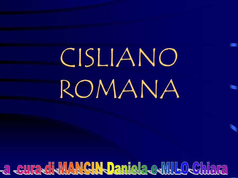 a cura di MANCIN Daniela e MILO Chiara