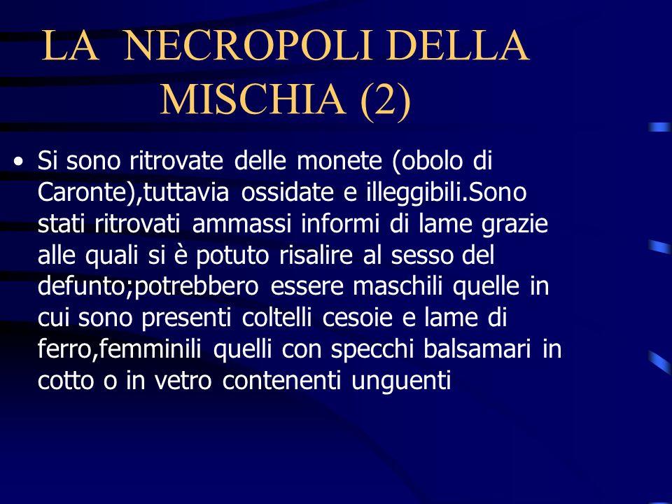 LA NECROPOLI DELLA MISCHIA (2)