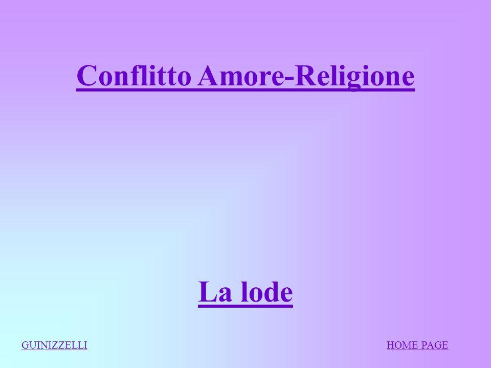Conflitto Amore-Religione