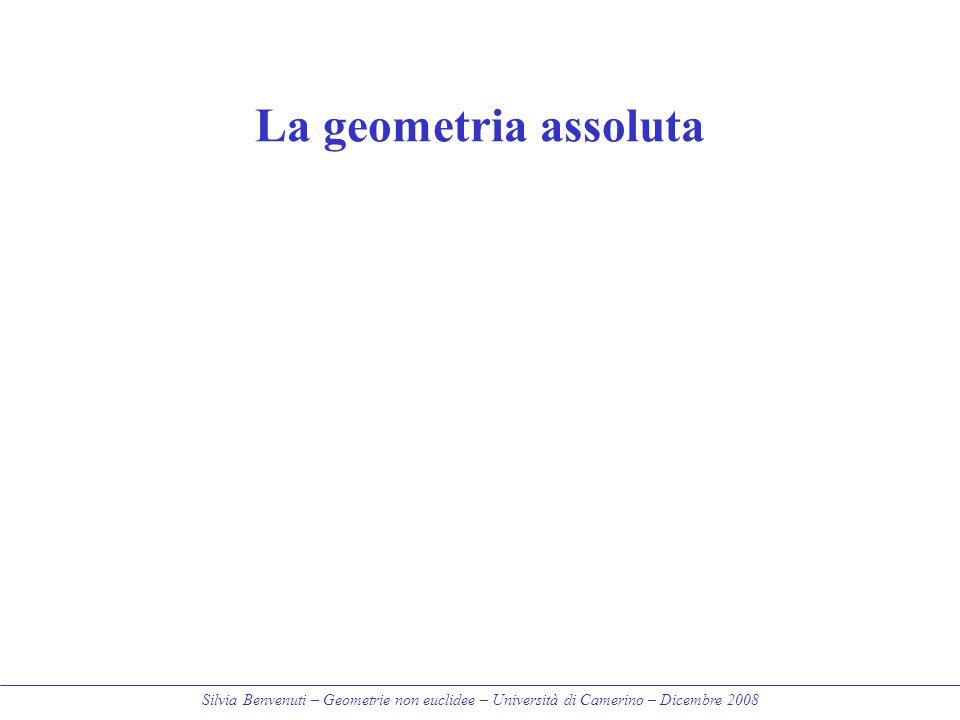 La geometria assoluta