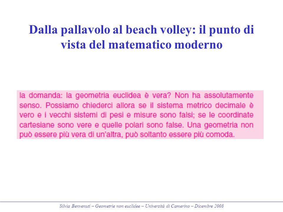 Dalla pallavolo al beach volley: il punto di vista del matematico moderno