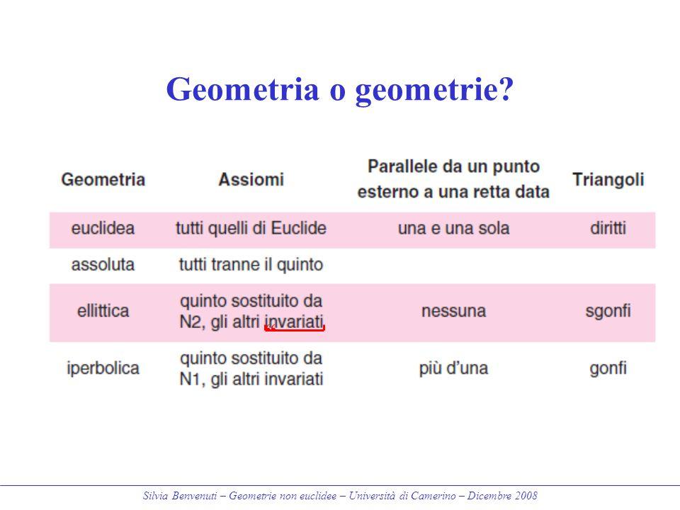 Geometria o geometrie