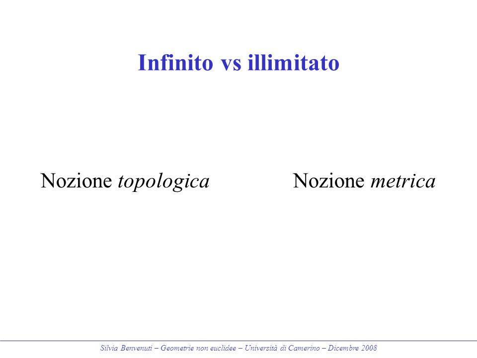 Infinito vs illimitato