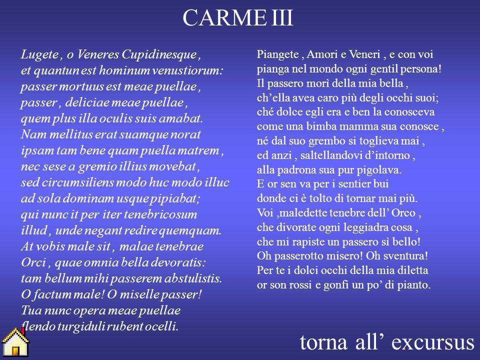 CARME III torna all' excursus