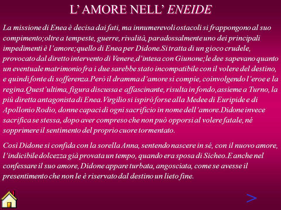 > L' AMORE NELL' ENEIDE