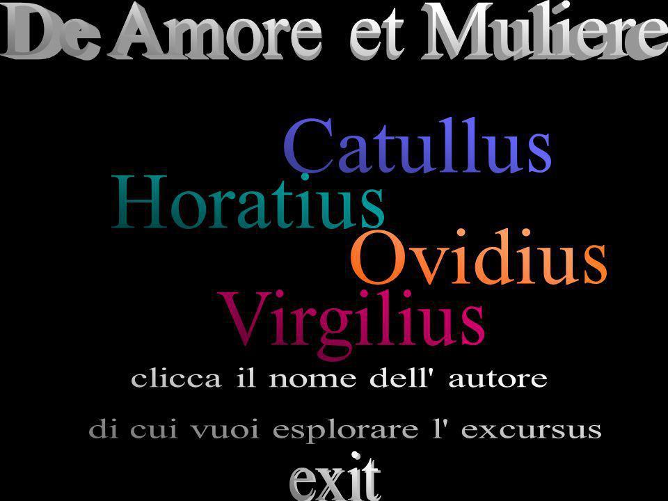 Catullu Horatiu Ovidiu Virgiliu De Amore et Muliere s s s s