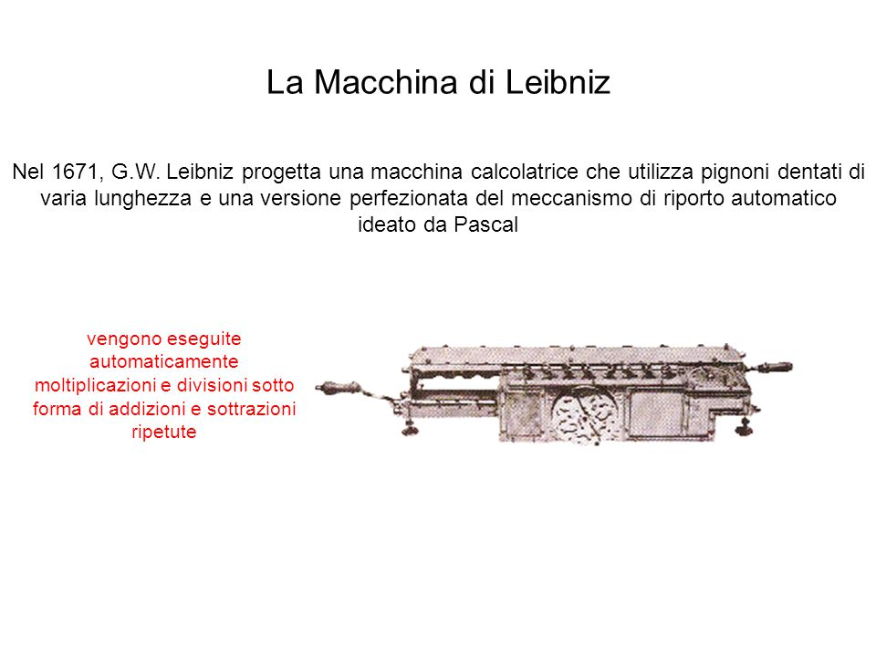 La Macchina di Leibniz