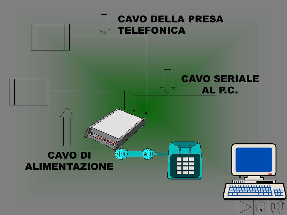 CAVO DELLA PRESA TELEFONICA