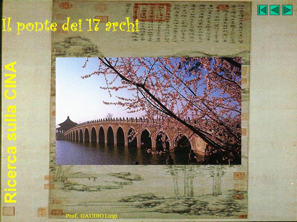 Il ponte dei 17 archi Prof. GAUDIO Luigi