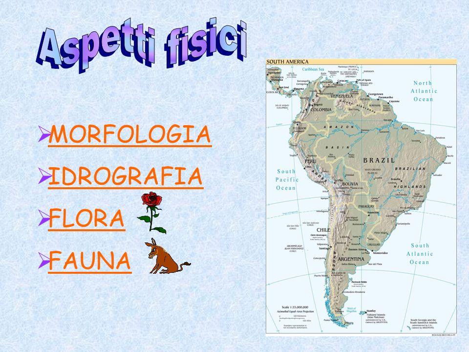 Aspetti fisici MORFOLOGIA IDROGRAFIA FLORA FAUNA