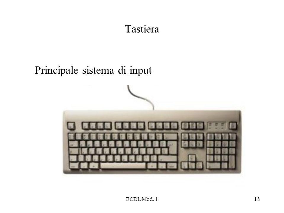 Principale sistema di input