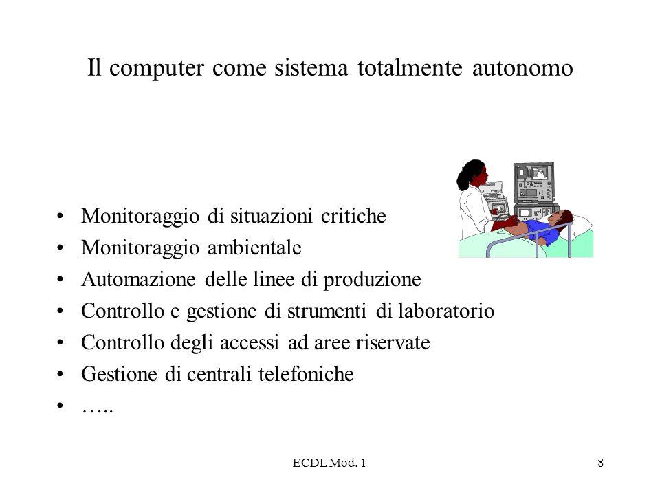 Il computer come sistema totalmente autonomo