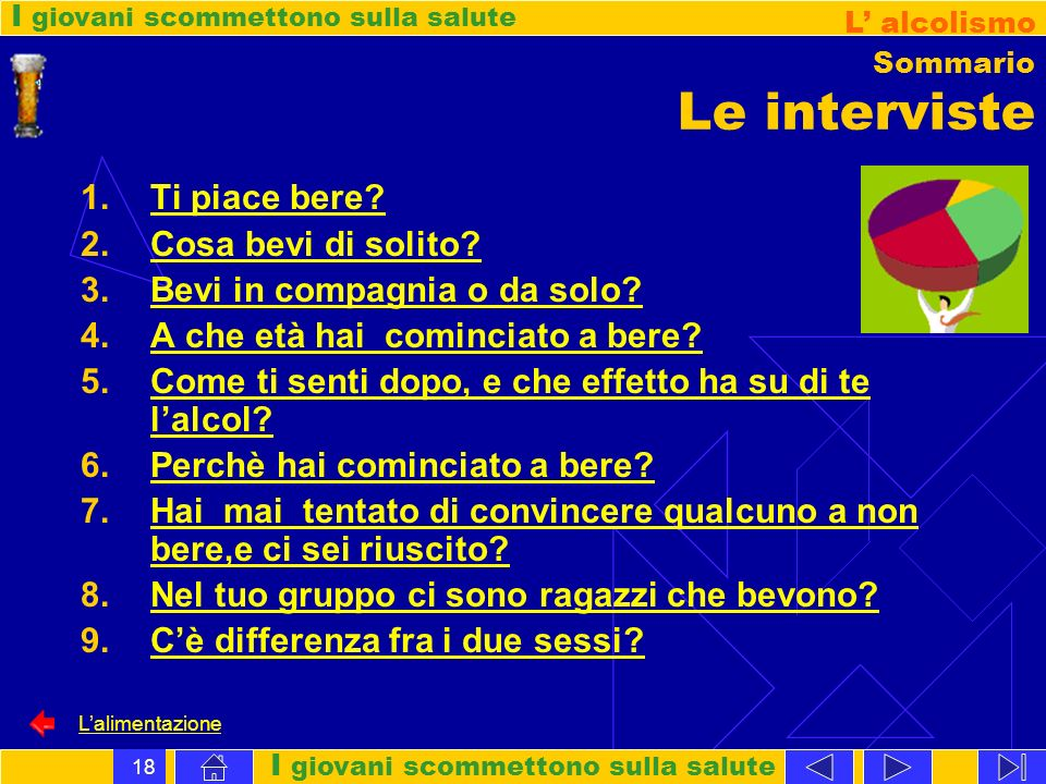Sommario Le interviste