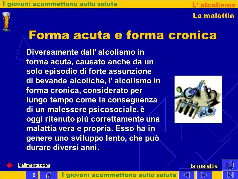 Forma acuta e forma cronica