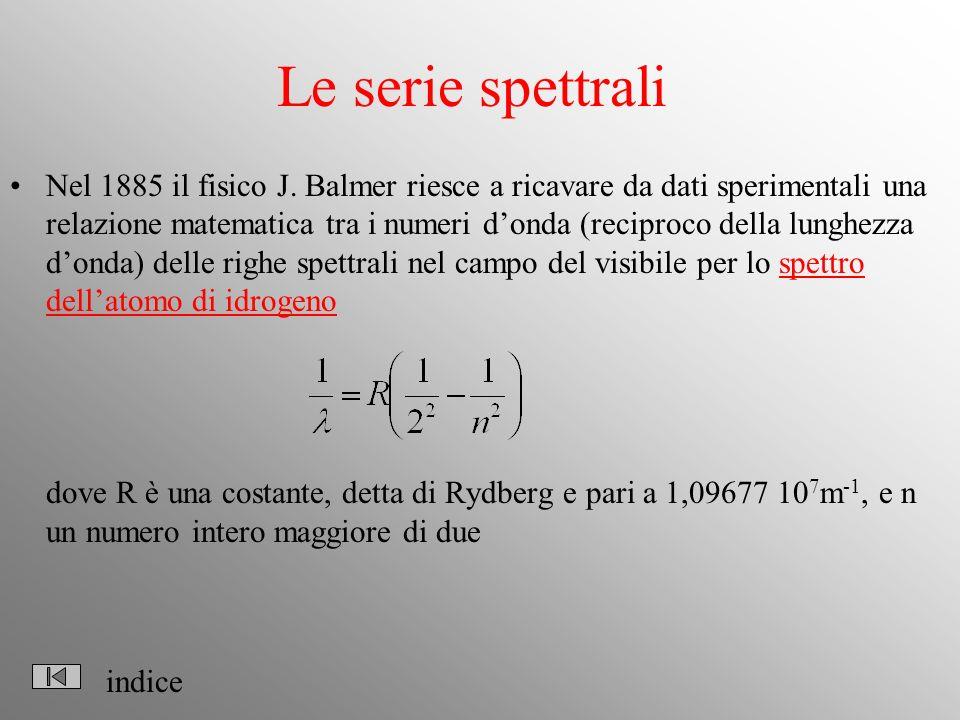 Le serie spettrali