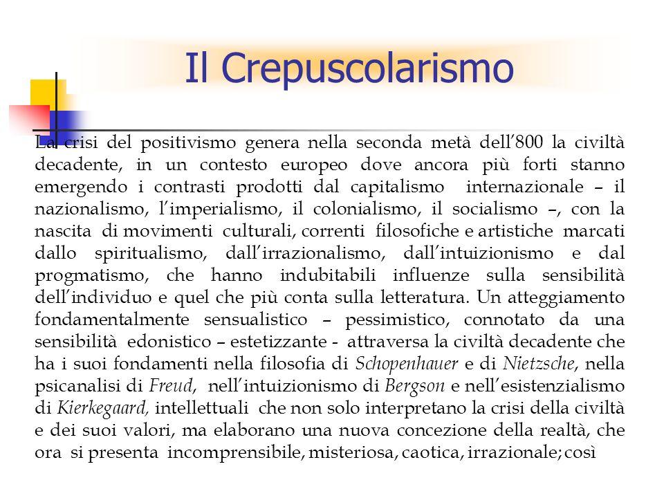 Il Crepuscolarismo