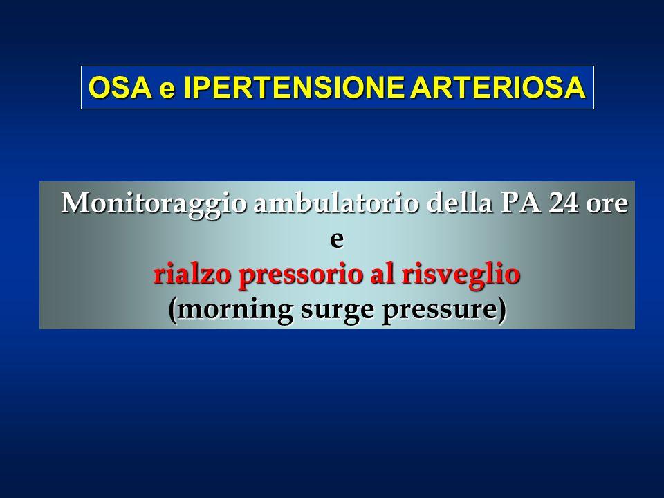OSA e IPERTENSIONE ARTERIOSA