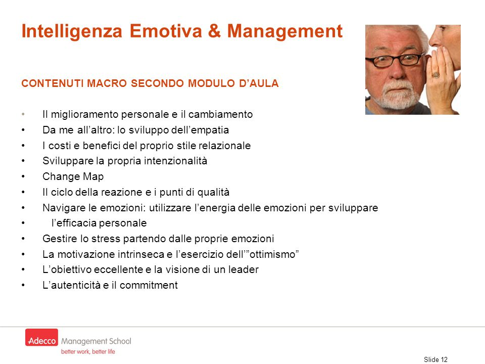 Intelligenza Emotiva & Management