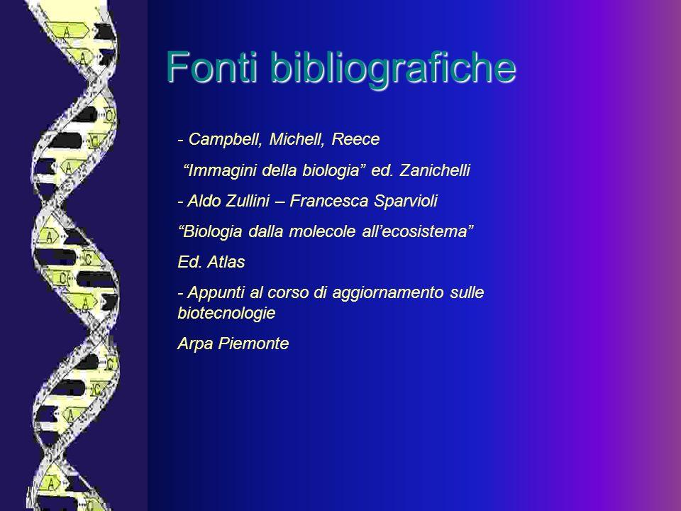Fonti bibliografiche - Campbell, Michell, Reece