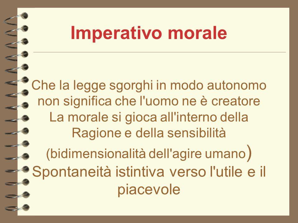 Imperativo morale