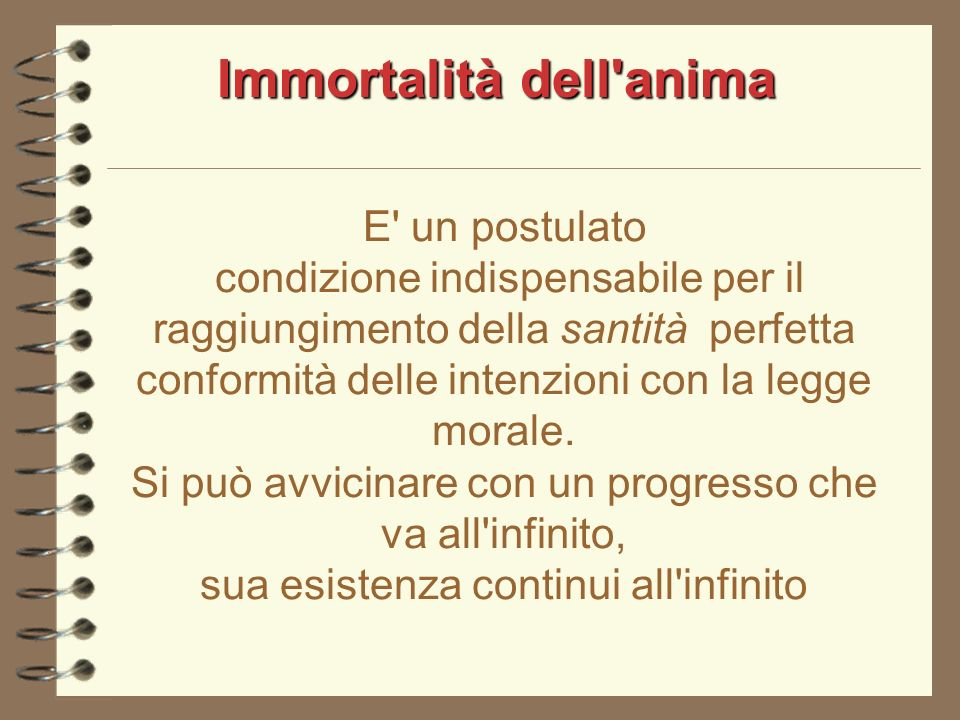 Immortalità dell anima