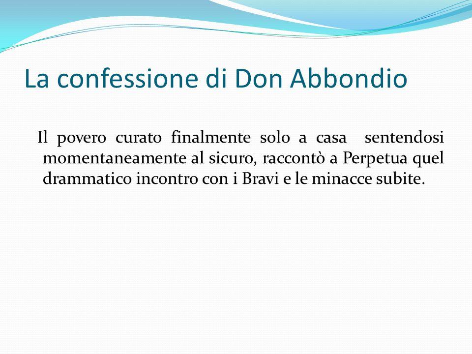 La confessione di Don Abbondio