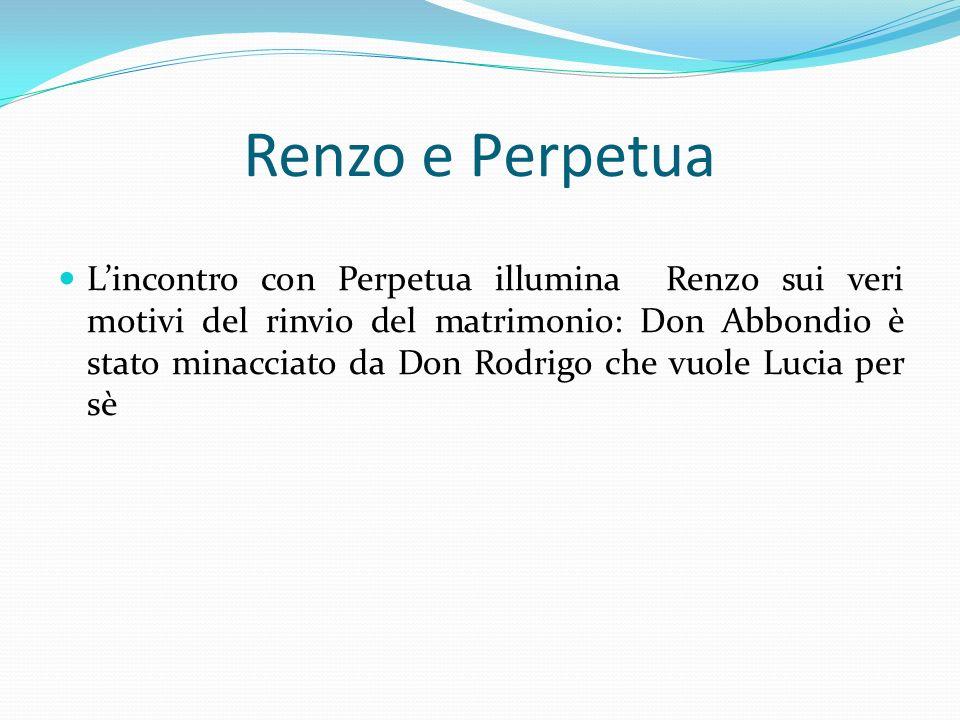 Renzo e Perpetua