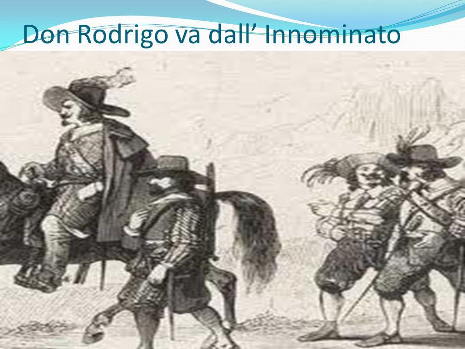 Don Rodrigo va dall' Innominato