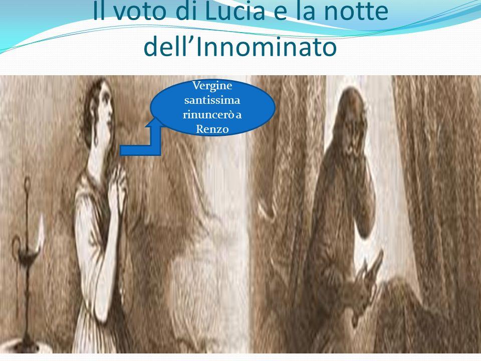 Il voto di Lucia e la notte dell'Innominato