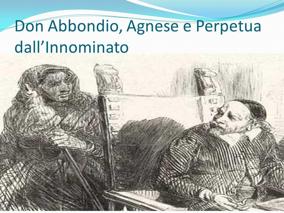 Don Abbondio, Agnese e Perpetua dall'Innominato