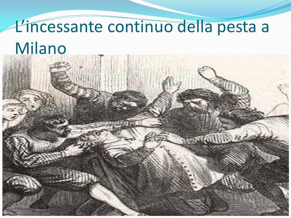 L'incessante continuo della pesta a Milano