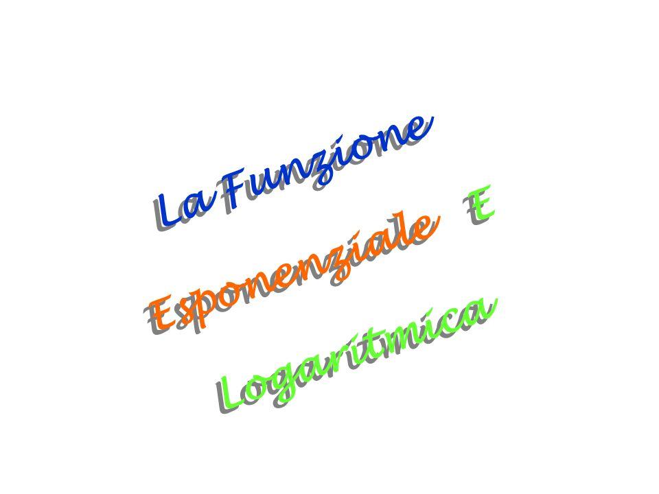 La Funzione Esponenziale E Logaritmica