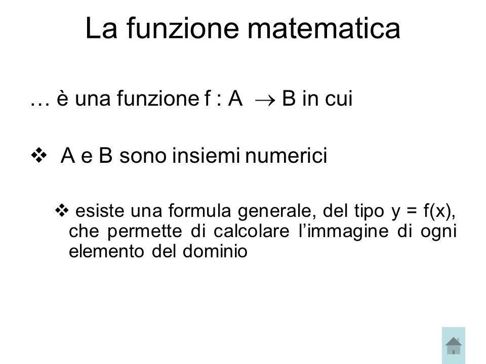La funzione matematica