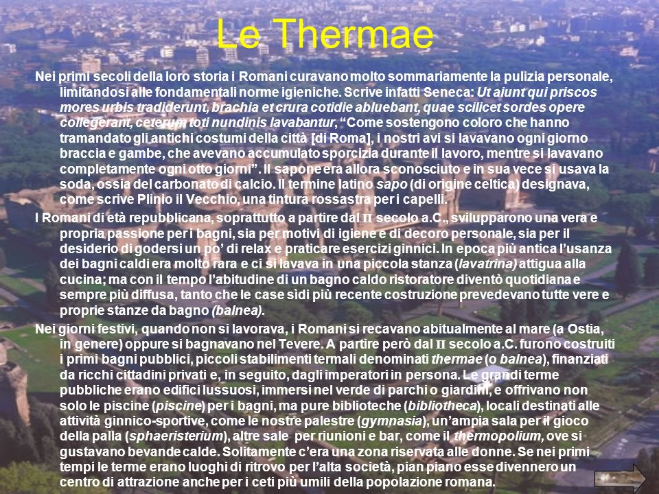 Le Thermae