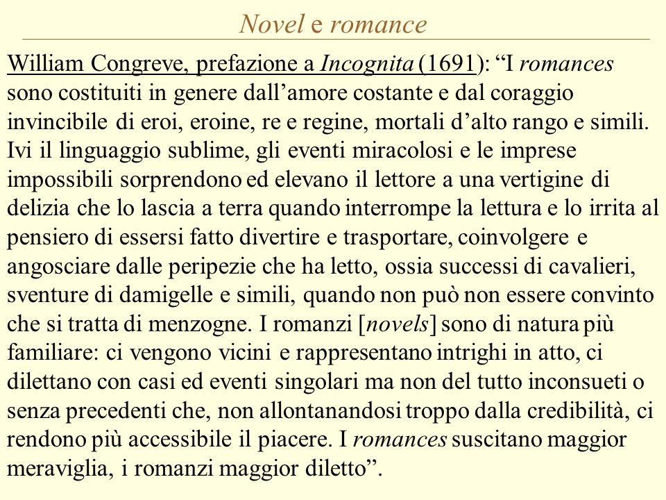 Novel e romance