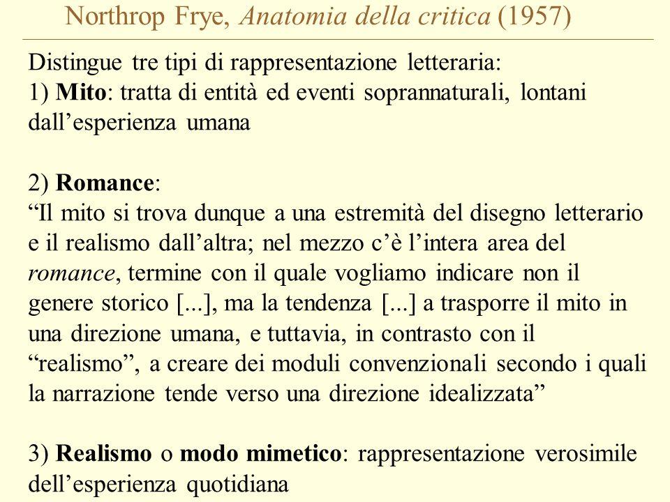 Northrop Frye, Anatomia della critica (1957)