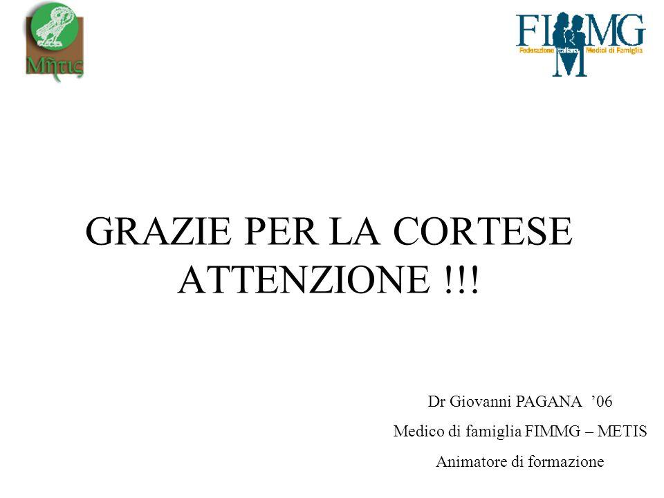 GRAZIE PER LA CORTESE ATTENZIONE !!!