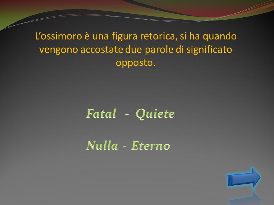 Fatal - Quiete Nulla - Eterno