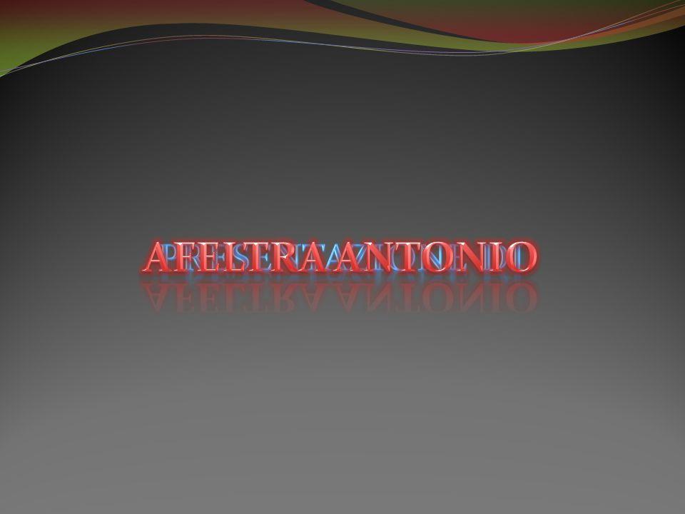AFELTRA ANTONIO Presentazione di