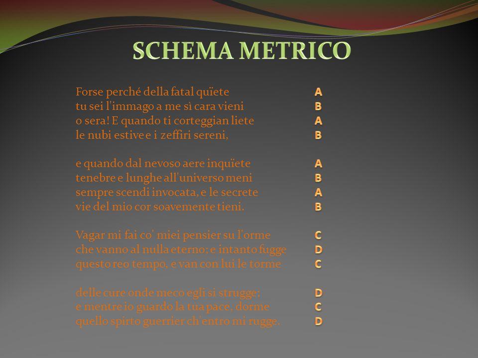 SCHEMA METRICO
