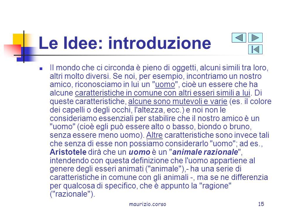 Le Idee: introduzione