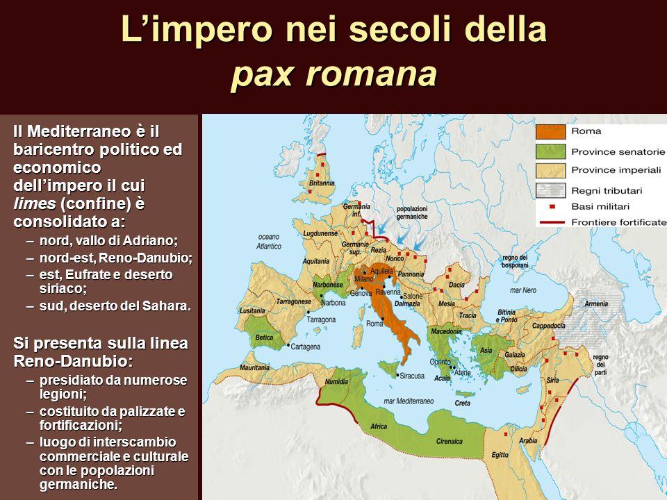 L'impero nei secoli della pax romana